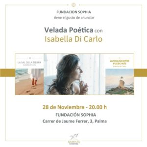 VELADA POÉTICA con Isabella Di Carlo @ Fundación Sophia
