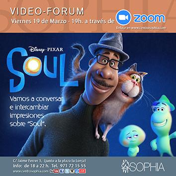 Comparte con la Fundación Sophia la reflexión de la película Soul