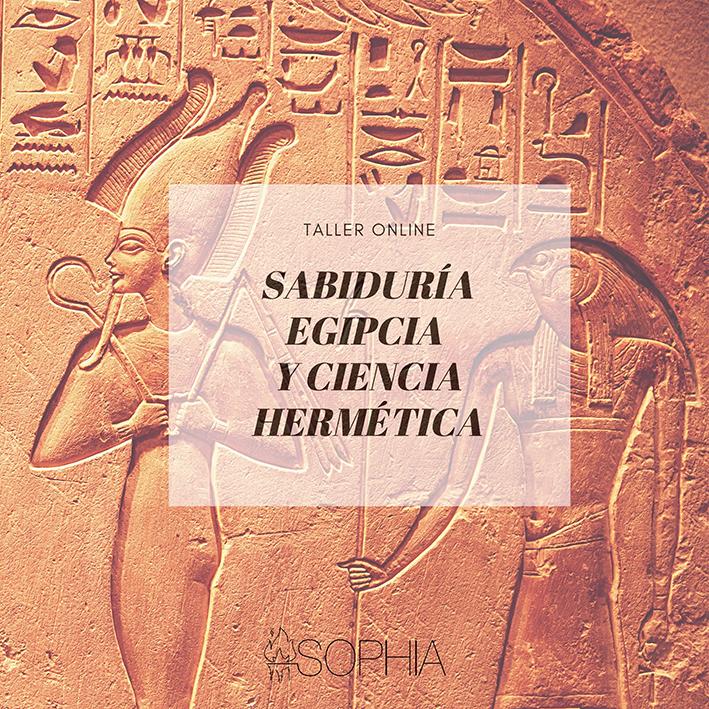 taller egiptología en la Fundacion Sophia